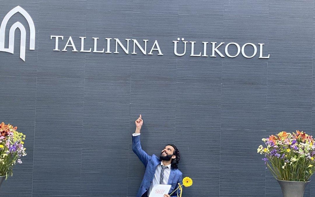 Pakistani student of Tallinn University estonia